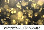 abstract bokeh lights with...   Shutterstock . vector #1187399386