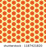 abstract vector pattern with... | Shutterstock .eps vector #1187421820