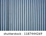 used metal corrugated surface... | Shutterstock . vector #1187444269