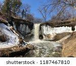 the minnehaha falls | Shutterstock . vector #1187467810