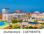 wichita  kansas  usa downtown... | Shutterstock . vector #1187483476