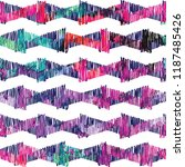 seamless pattern with arrows.... | Shutterstock .eps vector #1187485426