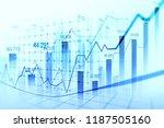 stock market forex trading... | Shutterstock . vector #1187505160