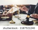good service cooperation ... | Shutterstock . vector #1187521240
