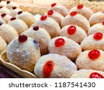 close up of assorted donuts.... | Shutterstock . vector #1187541430
