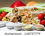 eastern traditional shawarma...