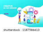 creative ui ux design vector...