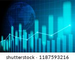 stock market and exchange of... | Shutterstock .eps vector #1187593216