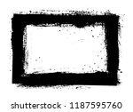 vector grunge frame.grunge... | Shutterstock .eps vector #1187595760