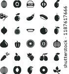 solid black flat icon set mini...   Shutterstock .eps vector #1187617666
