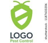 pest control logo | Shutterstock .eps vector #1187633206