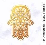 Hamsa Or Hand Of Fatima.