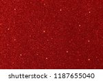 red glitter lights background.... | Shutterstock . vector #1187655040