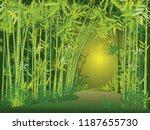 illustration of bamboo trees ...   Shutterstock .eps vector #1187655730