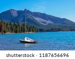small sailboat on east lake ...   Shutterstock . vector #1187656696