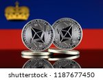 physical version of ethereum ... | Shutterstock . vector #1187677450