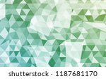 geometric rumpled triangular... | Shutterstock .eps vector #1187681170