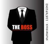 business suit  business concept ... | Shutterstock .eps vector #1187691043
