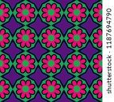 vector illustration. flower and ... | Shutterstock .eps vector #1187694790