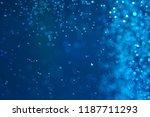 air bubbles in water macro... | Shutterstock . vector #1187711293