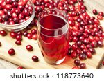 Fresh Organic Cranberry Juice...