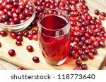 Fresh Organic Cranberry Juice...