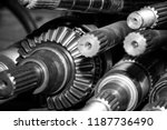 shafts of car automatic... | Shutterstock . vector #1187736490
