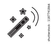 magic wand icon vector isolated ... | Shutterstock .eps vector #1187741866