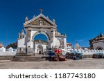 copacabana  bolivia  march 21 ... | Shutterstock . vector #1187743180