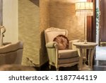 old fashioned armchair in... | Shutterstock . vector #1187744119