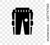 practice pants vector icon...   Shutterstock .eps vector #1187747560