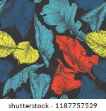 vector seamless pattern with... | Shutterstock .eps vector #1187757529