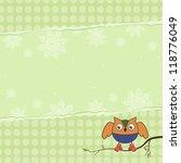 template illustration on the... | Shutterstock .eps vector #118776049
