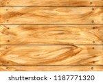 watercolor wood texture  wooden ... | Shutterstock . vector #1187771320