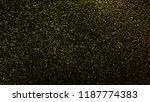 gold dust scattered on black... | Shutterstock . vector #1187774383