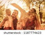 family is important. portrait... | Shutterstock . vector #1187774623