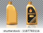 engine oil plastic bottle... | Shutterstock . vector #1187783116