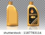 engine oil plastic bottle... | Shutterstock . vector #1187783116