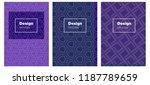 dark pink  blue vector brochure ...