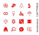 people icons set with speech... | Shutterstock .eps vector #1187799823