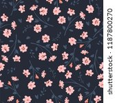 floral abstract seamless... | Shutterstock .eps vector #1187800270