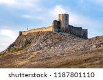 enisala fortress dobruja... | Shutterstock . vector #1187801110