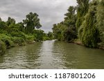 danube delta in romania europe... | Shutterstock . vector #1187801206