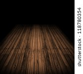 wooden floor in grunge style | Shutterstock . vector #118780354
