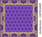 design of a geometric flower... | Shutterstock .eps vector #1187816089