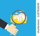 vector investment concept in... | Shutterstock .eps vector #1187818240