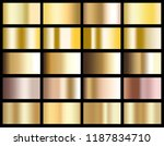 gold gradient background icon... | Shutterstock . vector #1187834710