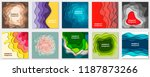 vector collection of 10... | Shutterstock .eps vector #1187873266