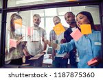 business people meeting at... | Shutterstock . vector #1187875360