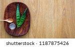 extract of fresh aloe vera for... | Shutterstock . vector #1187875426